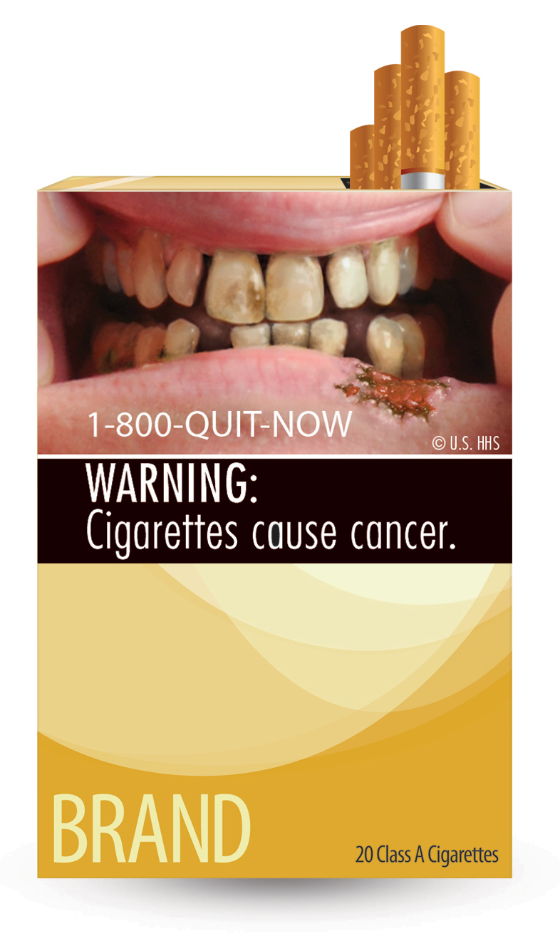 improvement of cigarette warning labels in Graphic warning labels in cigarette advertisements: recall and viewing patterns  legal authority to mandate graphic warning labels on cigarette advertising and.