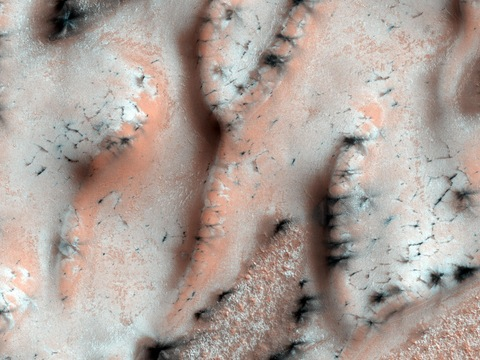 Martian Spring. Courtesy of NASA