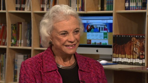 Sandra Day O'Connor, First Female Justice and Moderate Swing Vote, Retires