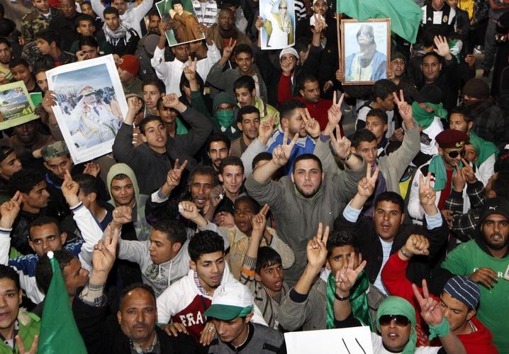 Gadhafi Supporters