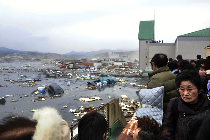 Kesennuma City Devastation