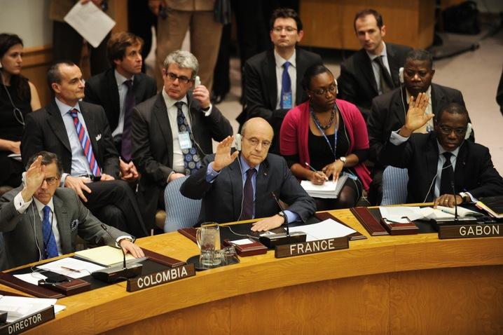 The U.N. Vote