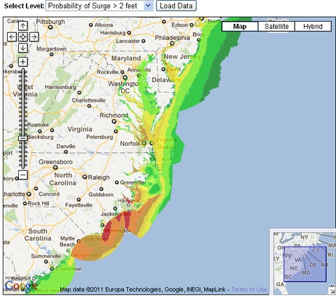 Hurricane Irene Strengthening, Va., N.J., N.Y. and N.C. Declare ...