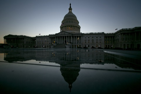 U.S. Capitol; photo by Andrew Harrer/Bloomberg via Getty Images