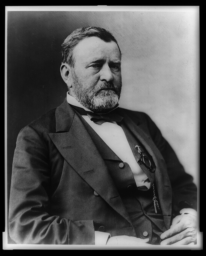 Ulysses S. Grant with His Children