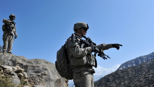 U.S. forces in Afghanistan. Photo by Kim Jae-Hwan/AFP/Getty Images