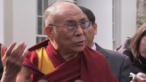 Dalai Lama's Remarks After White House Meeting