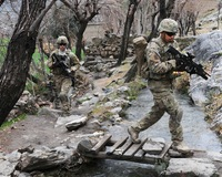 Marines Surge Strikes Taliban Snipers in Helmand Province