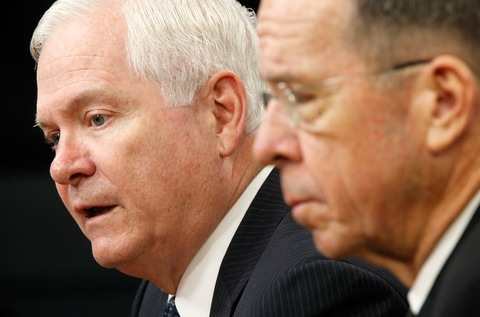 Robert Gates And Adm. Mike Mullen Discuss Don't Ask Don't Tell Policy