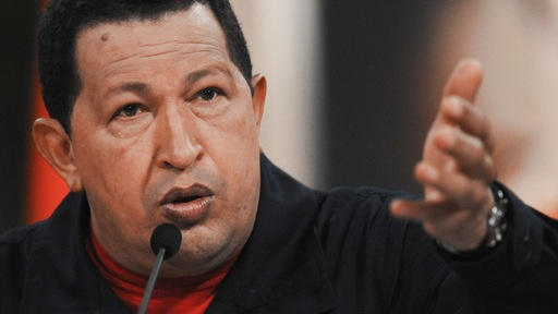 Venezuelan President Hugo Chavez. Photo by AFP/Getty Images
