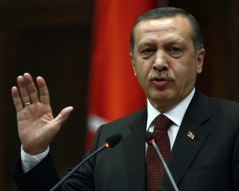 Prime Minister Recep Tayyip Erdogan. Photo by Adem Altan/AFP/Getty Images