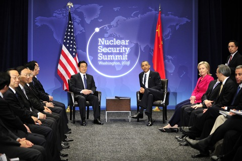 President Barack Obama and President Hu Jintao of China