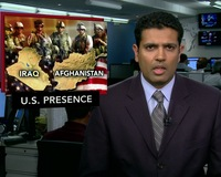 News Wrap: Afghanistan Tops Iraq in Total U.S. Troop Presence