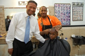 Artur Davis campaigning in 2010; Photo: Artur Davis on Facebook