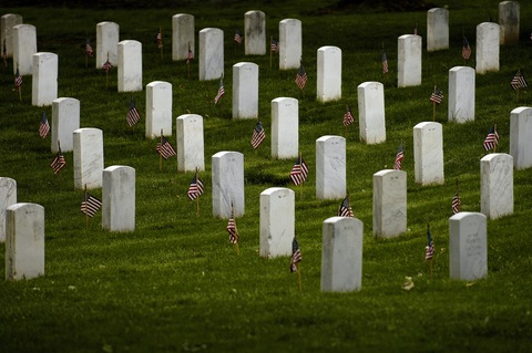 Arlington National Cemetery; Flickr photo by Adam Skoczylas/U.S. Army