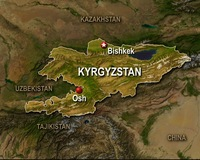 Violence 'Abating' in Kyrgyzstan as Interim Leader Visits Stricken City