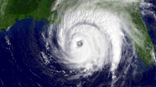 The 2010 hurricane season could further batter Haiti and the Gulf coast of the U.S.; NOAA image