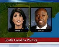 Primary Voters in South Carolina Take Aim at 'Establishment' Candidates