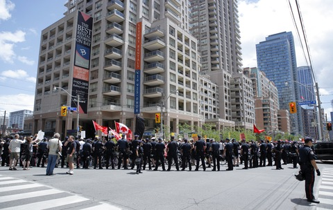 G20 preparations in Toronto. Photo by Jemal Countess/Getty Images