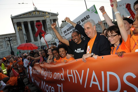 AIDS Conference in Vienna; Photo by IAS/Steve Forrest