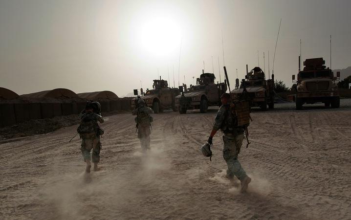 Evening in Kandahar