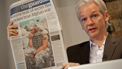 Australian founder of whistleblowing website, 'WikiLeaks', Julian Assange; AFP/Getty images