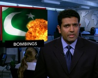 News Wrap: Bombings in Pakistan Kill at Least 25