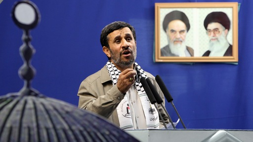 Iranian President Mahmoud Ahmadinejad. Photo by Atta Kenare/AFP/Getty Images