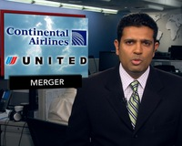 News Wrap: United, Continental Closer to Creating World's Biggest Airline