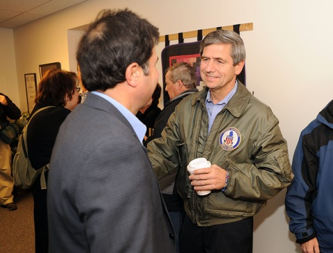 Joe Sestak votes