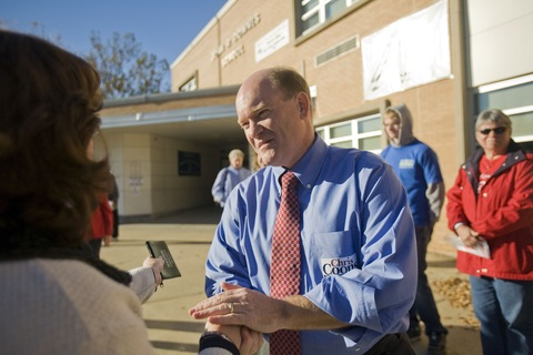 Chris Coons votes