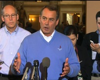 News Wrap: Boehner Standing Firm on Extending Bush Tax Cuts