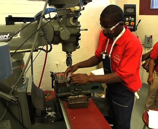 WATCH: Chicago High School Prepares Students for Real-World Manufacturing Jobs