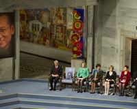 Jailed in China, Dissident Liu Xiaobo Honored With Empty Chair at Nobel Ceremony