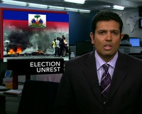 News Wrap: Tensions Run High in Haiti Amid Election Recount