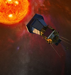 Drawing of the Solar Probe Plus spacecraft