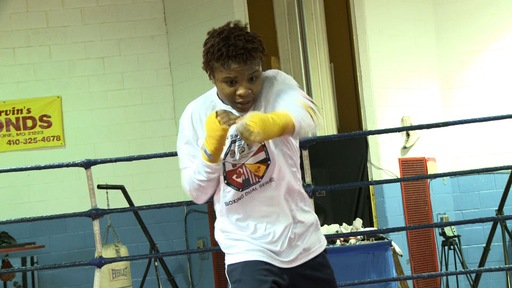 Female Boxer Aims to Punch Ticket to Olympics
