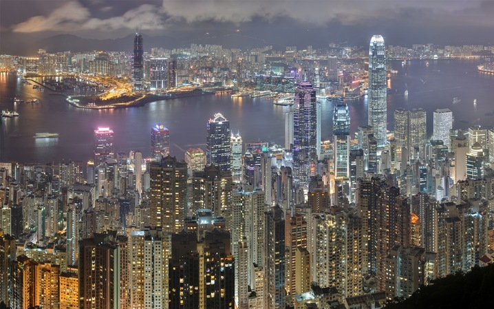 Hong Kong -- 7.1 million*