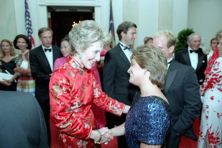 Nancy with Mary Lou Retton