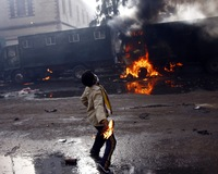 Despite Curfew and Communication Blockages, Protests Escalate in Egypt