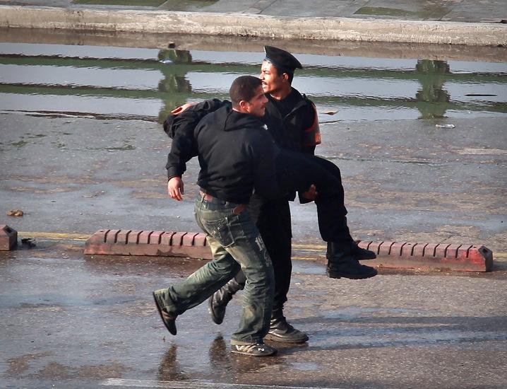 Injured Police