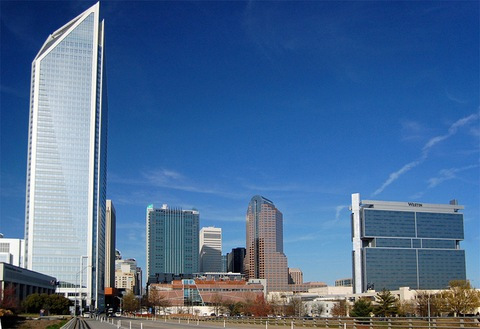 View of Charlotte, N.C.; Creative Commons photo courtesy Willamor Media (flickr.com/bz3rk/)