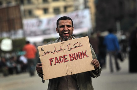 Social Media and Satellite TV: A One-Two Punch Against Mubarak