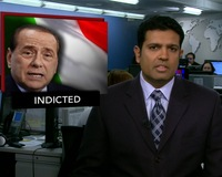 News Wrap: Italian Prime Minister Berlusconi Ordered to Stand Trial
