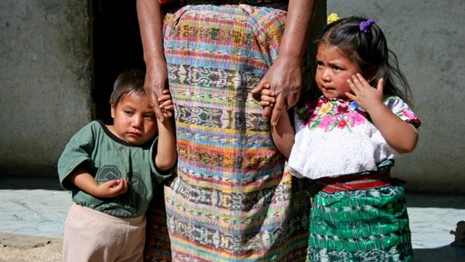 Children ages 3 and 4 in Guatemala; Photo by Talea Miller