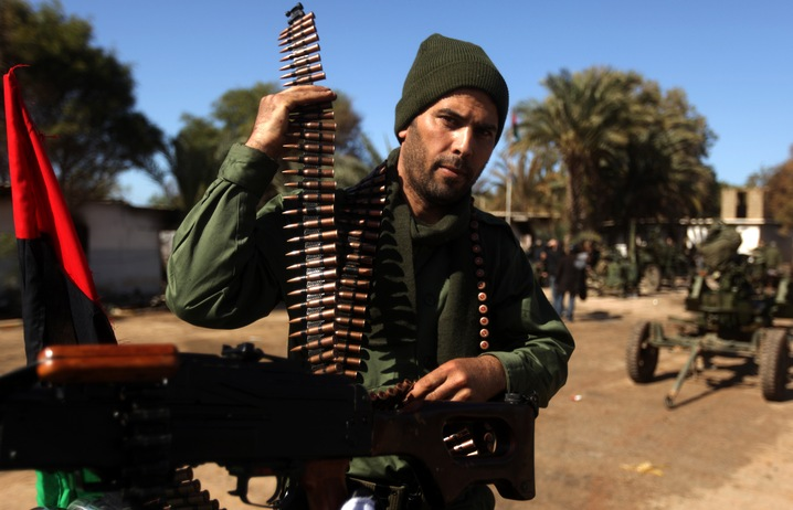 Rebel Fighters in Libya