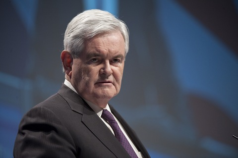 Newt Gingrich; Photo By Bill Clark/Roll Call