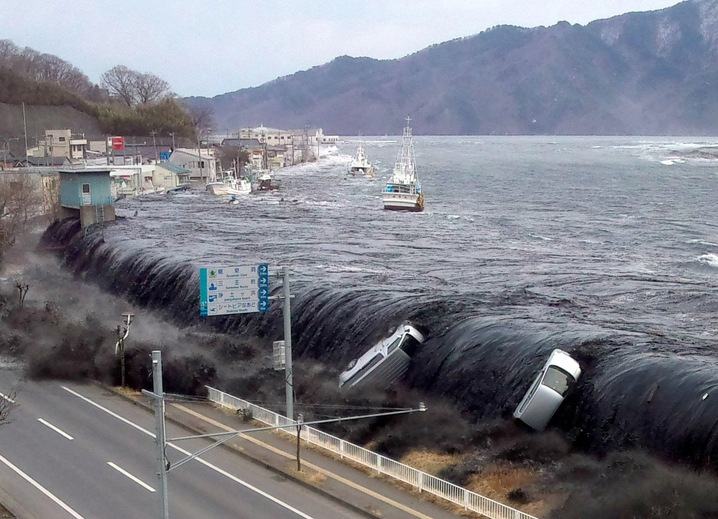 Tsunami Hits Miyako