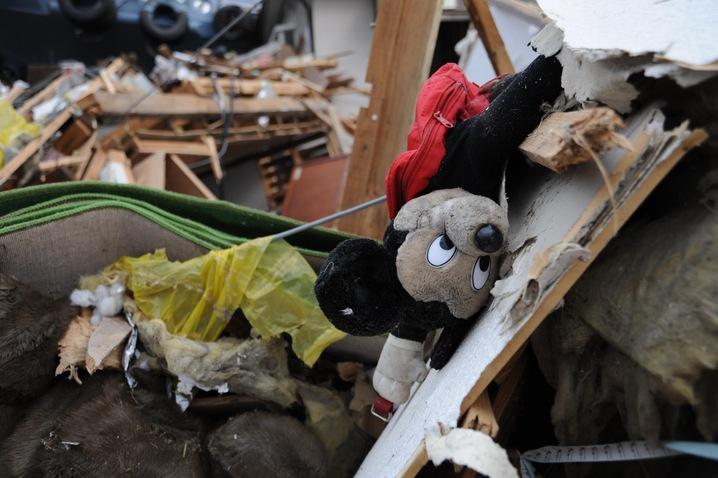 Doll in Debris
