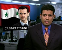 News Wrap: Syria's Cabinet Resigns Amid Protests